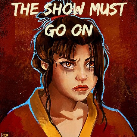 Azula- The Show Must Go On