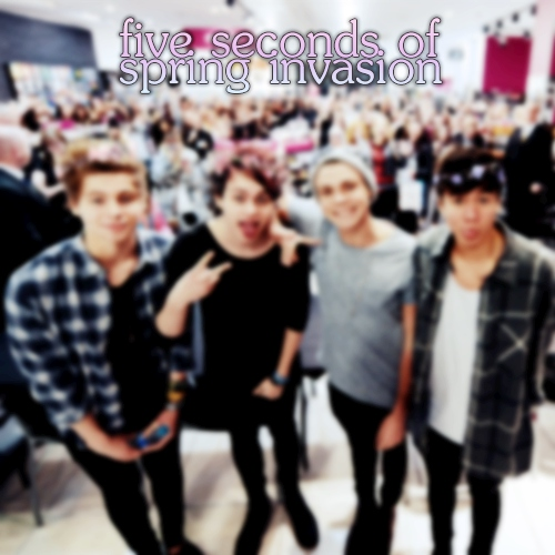 five seconds of spring invasion