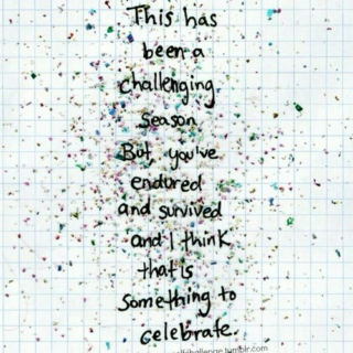 Celebrate yourself!