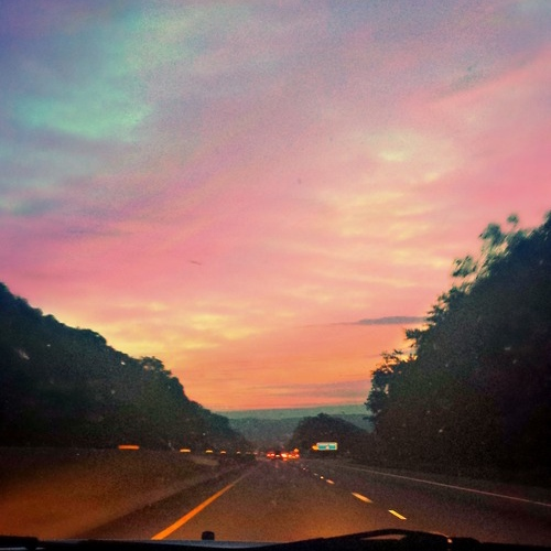 the open road.