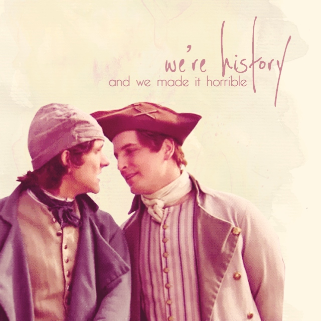 WE'RE HISTORY (and we made it horrible)