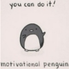 Motivational Penguin