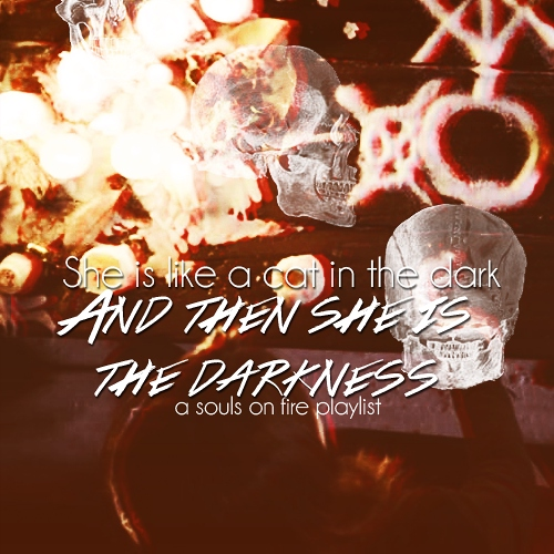 and then she is the darkness;