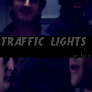 traffic lights;
