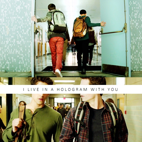 i live in a hologram with you
