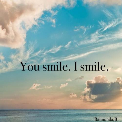 Smile for the lonely