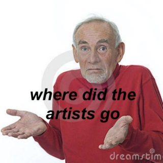 where did the artists go