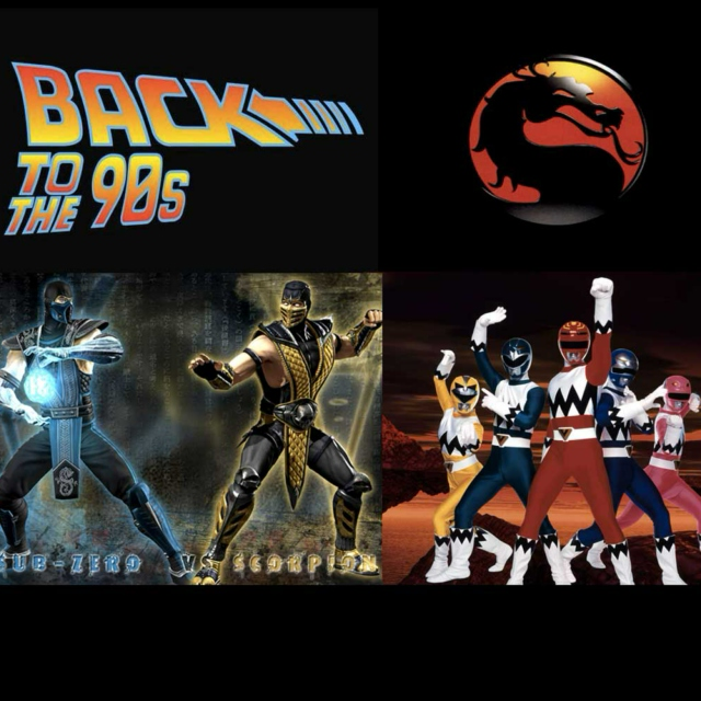 I grew up with Mortal Kombat & Power Rangers - Not Pokemon!
