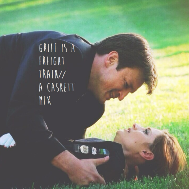 grief is a freight train