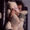 cuddling with harry