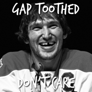 gap toothed don't care