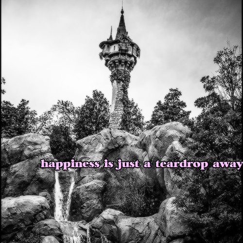 happiness is just a teardrop away