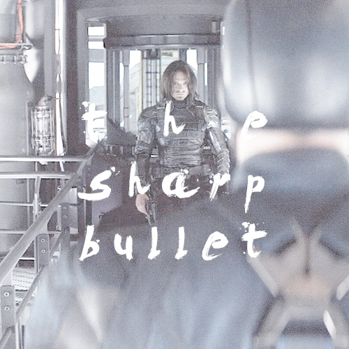 the sharp bullet // the winter soldier and the captain