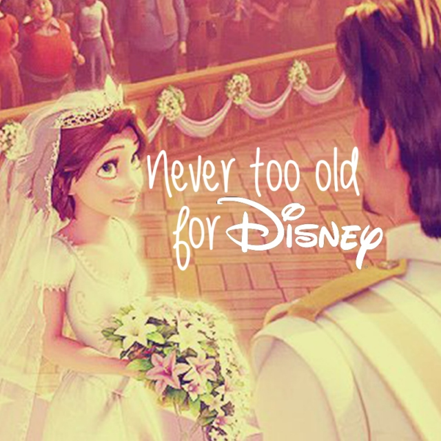 Never Too Old For Disney