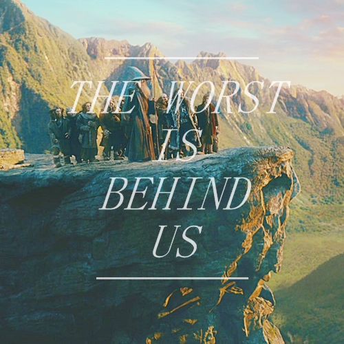 The Worst is Behind Us.