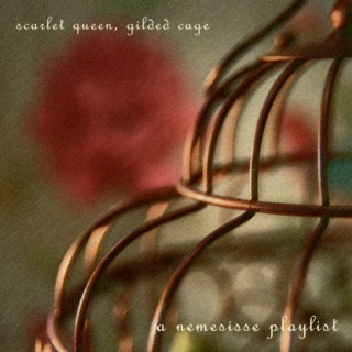 scarlet queen, gilded cage