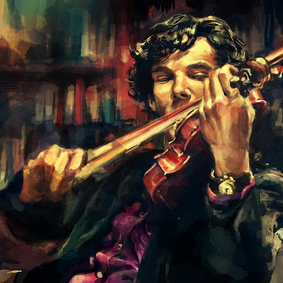 Cause violin is the logic string to play your life on