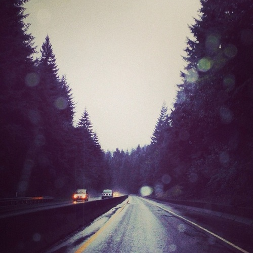 Rainy roadtrip