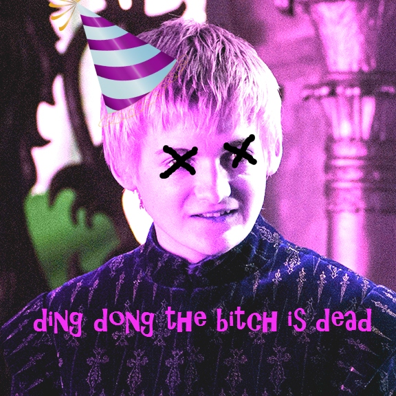 ding dong the bitch is dead
