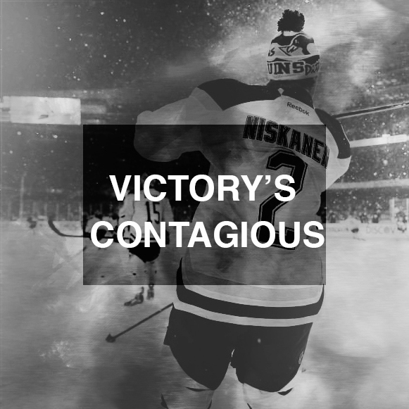 victory's contagious
