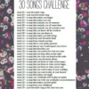 ☾ 30 song challenge ☽