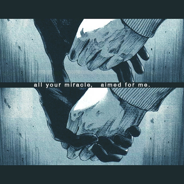 all your miracle, aimed for me.