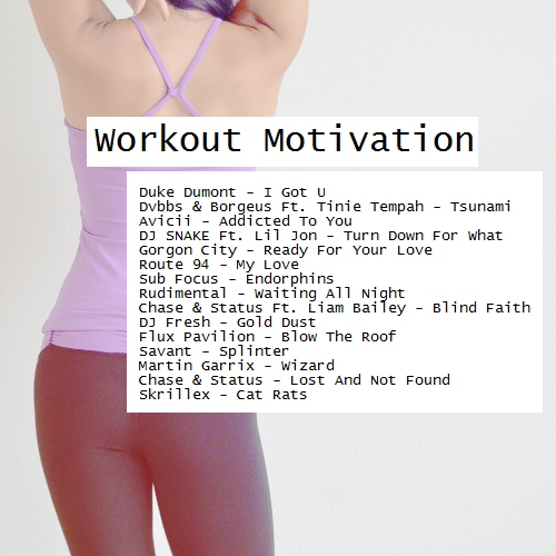 8tracks radio | Workout Motivation (10 songs) | free and