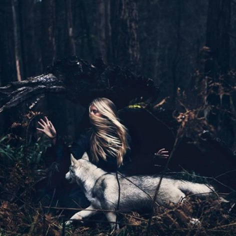 WOLF OF A GIRL