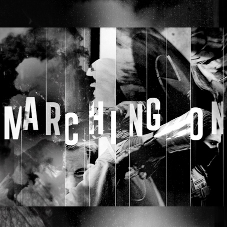 marching on: a steve/bucky mix
