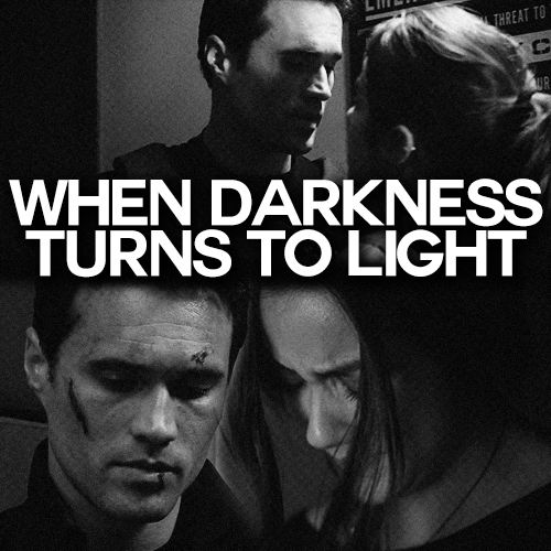 when darkness turns to light
