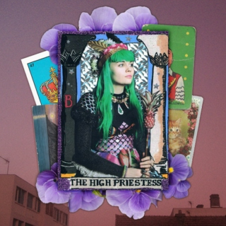 the high priestess.