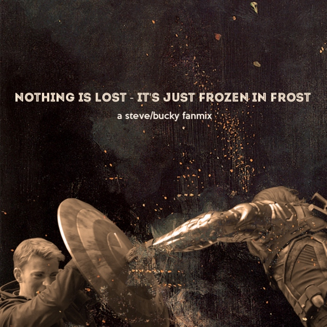 nothing is lost - it's just frozen in frost