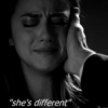 """She's different"""