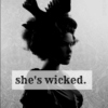 she's wicked.