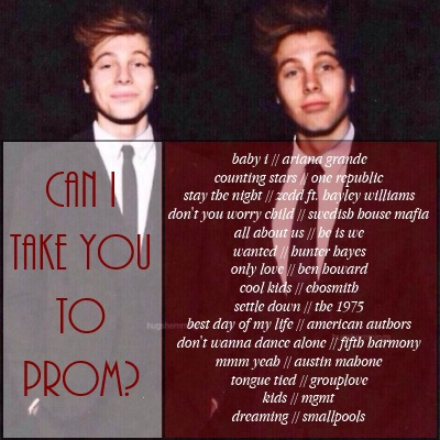 can i take you to prom? ❤