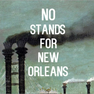 NO Stands for New Orleans
