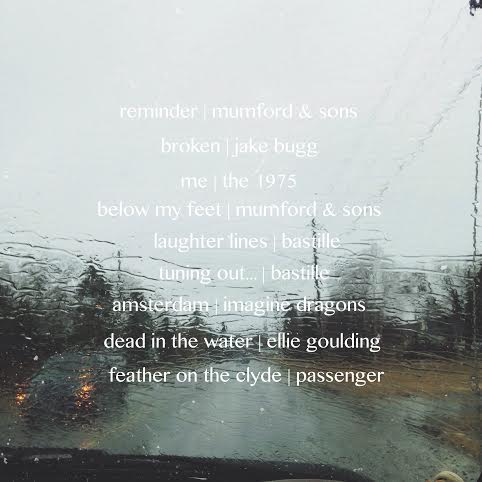 rainy days & car rides