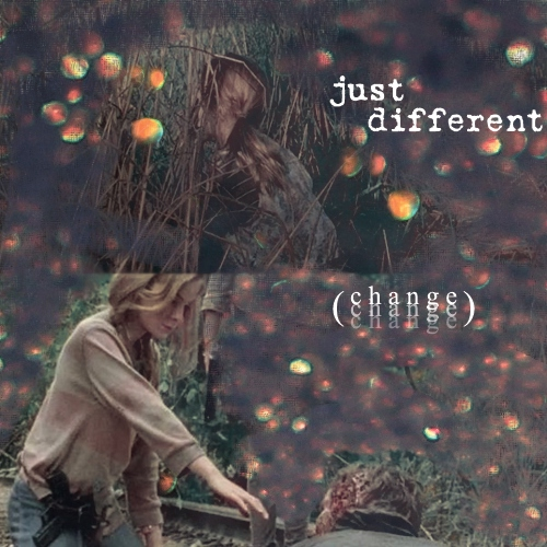 just different (c h a n g e)