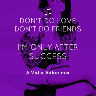 ♪ I came here to win // a vidia adlon mix