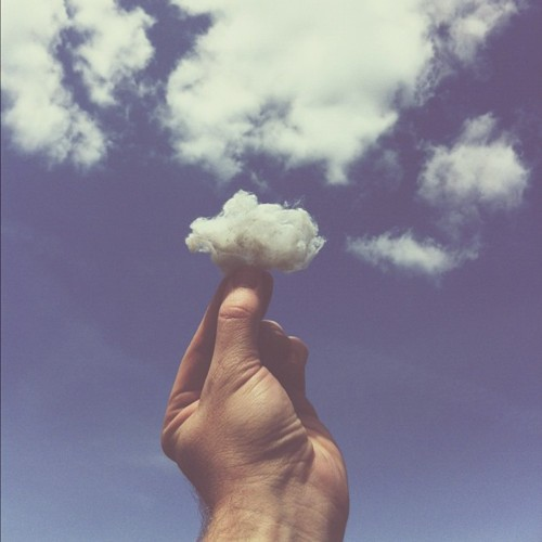 Clouds come and go...