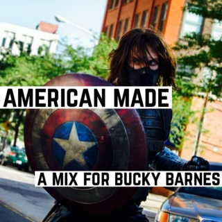 american made (a mix for bucky barnes)