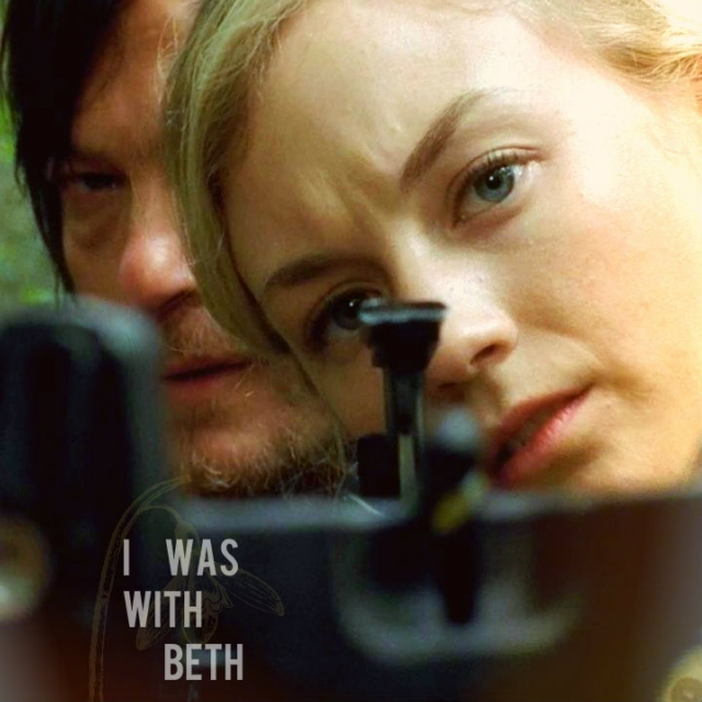 I was with Beth.