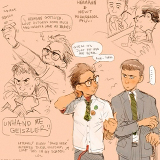 Nerds: A Newt/Hermann High School AU Fanmix