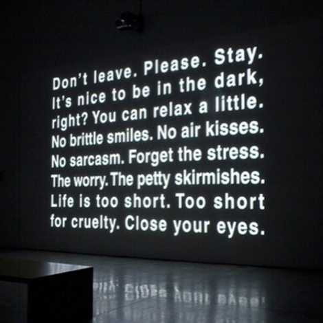 Stay...