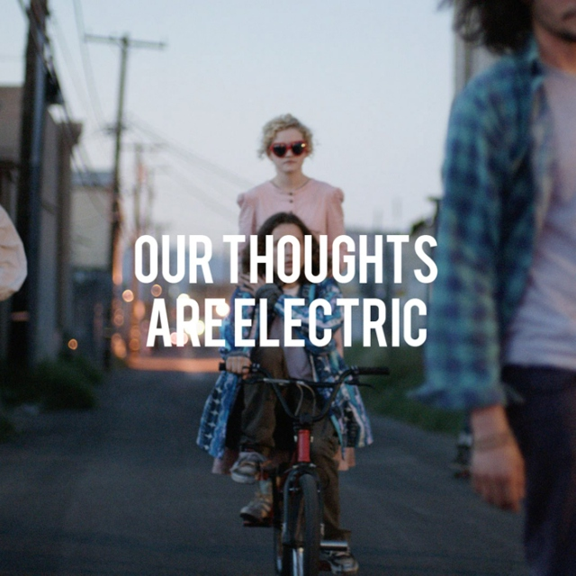 our thoughts are electric