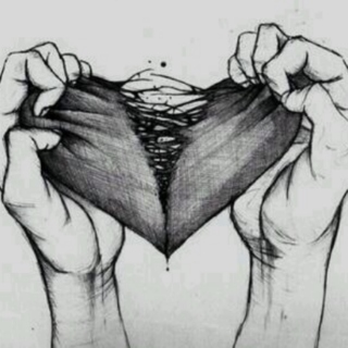 broken metal heart </3