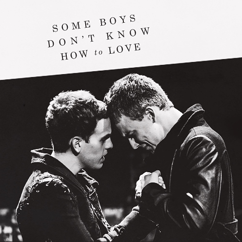 some boys don't know how to love