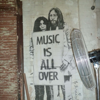 Music Is All Over