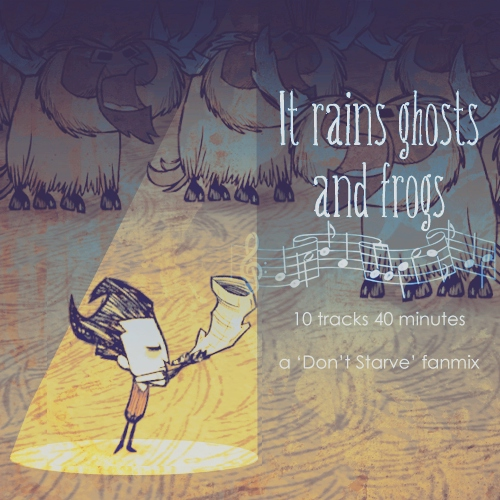 It rains ghosts and frogs