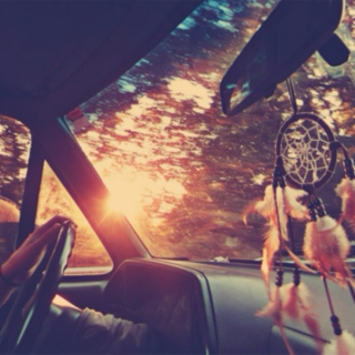 nothing but open roads.
